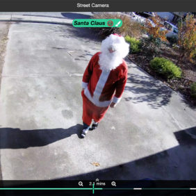 Even Santa Claus Gets Caught by Camect's Artificial Intelligence