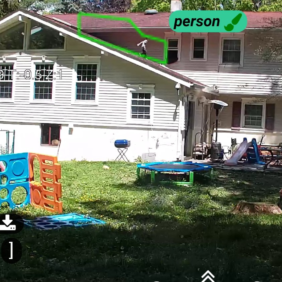 Camect's AI Detects A Child in Danger