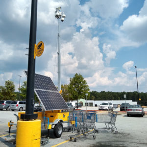 Portable Solar Security System supported Camect