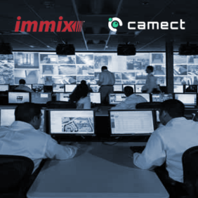 Camect and Immix Announce Partnership to Integrate Video Monitoring with Real Time AI Generated Alerts