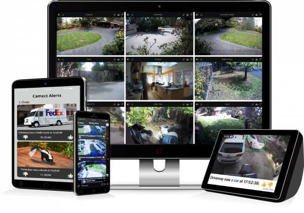 Camect Stream from Laptop, Phone, or Tablet